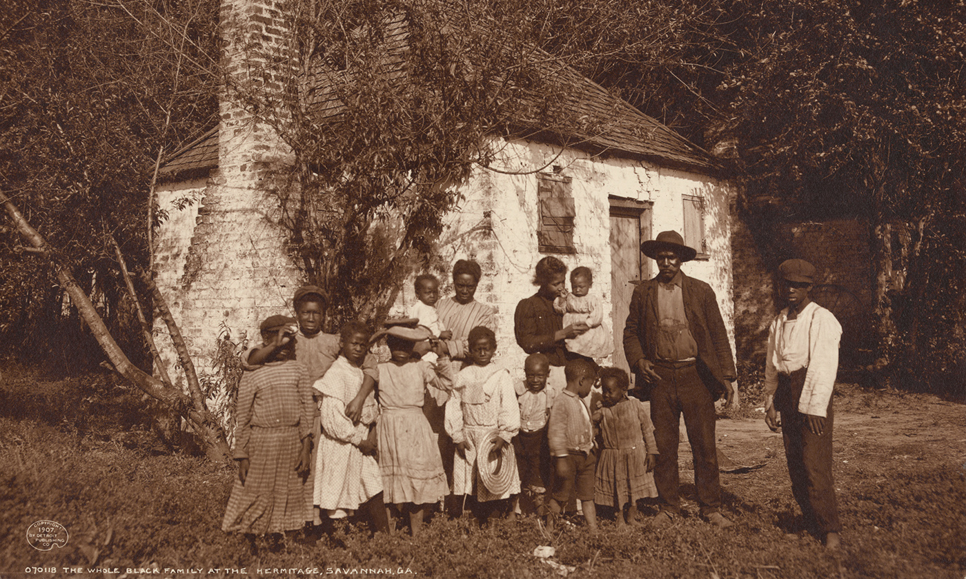 land and the roots of african american poverty ideas african american family at the hermitage savannah in 1907 <em