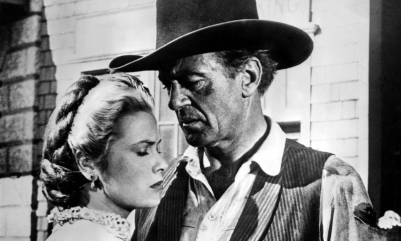<p>Do not forsake me. Grace Kelly and Gary Cooper in <em>High Noon</em> (1952). <em>Photo by Getty</em></p>