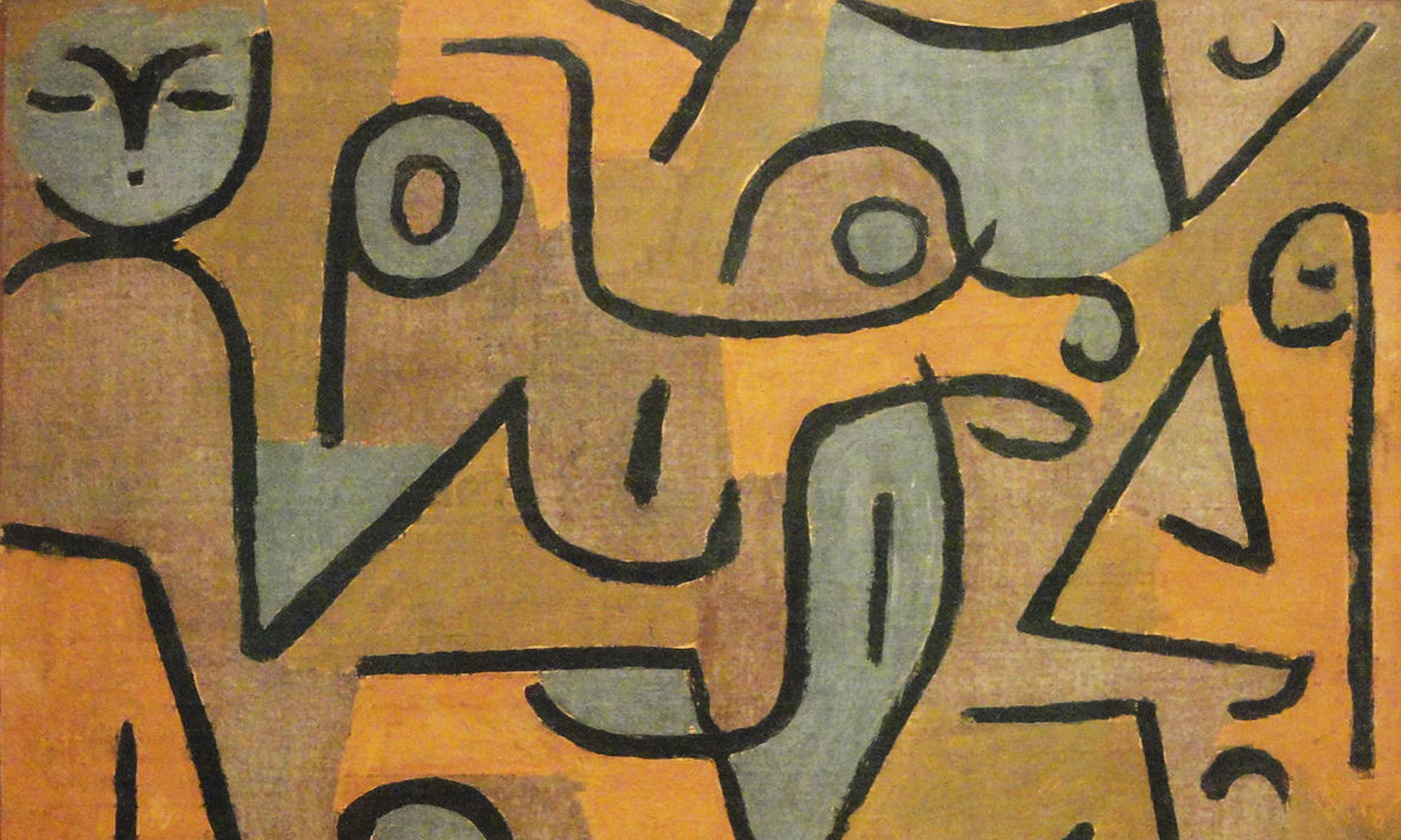 Detail from <em>Young Moe</em> (1938) by Paul Klee. <em>Courtesy Phillips collection/Wikipedia</em>
