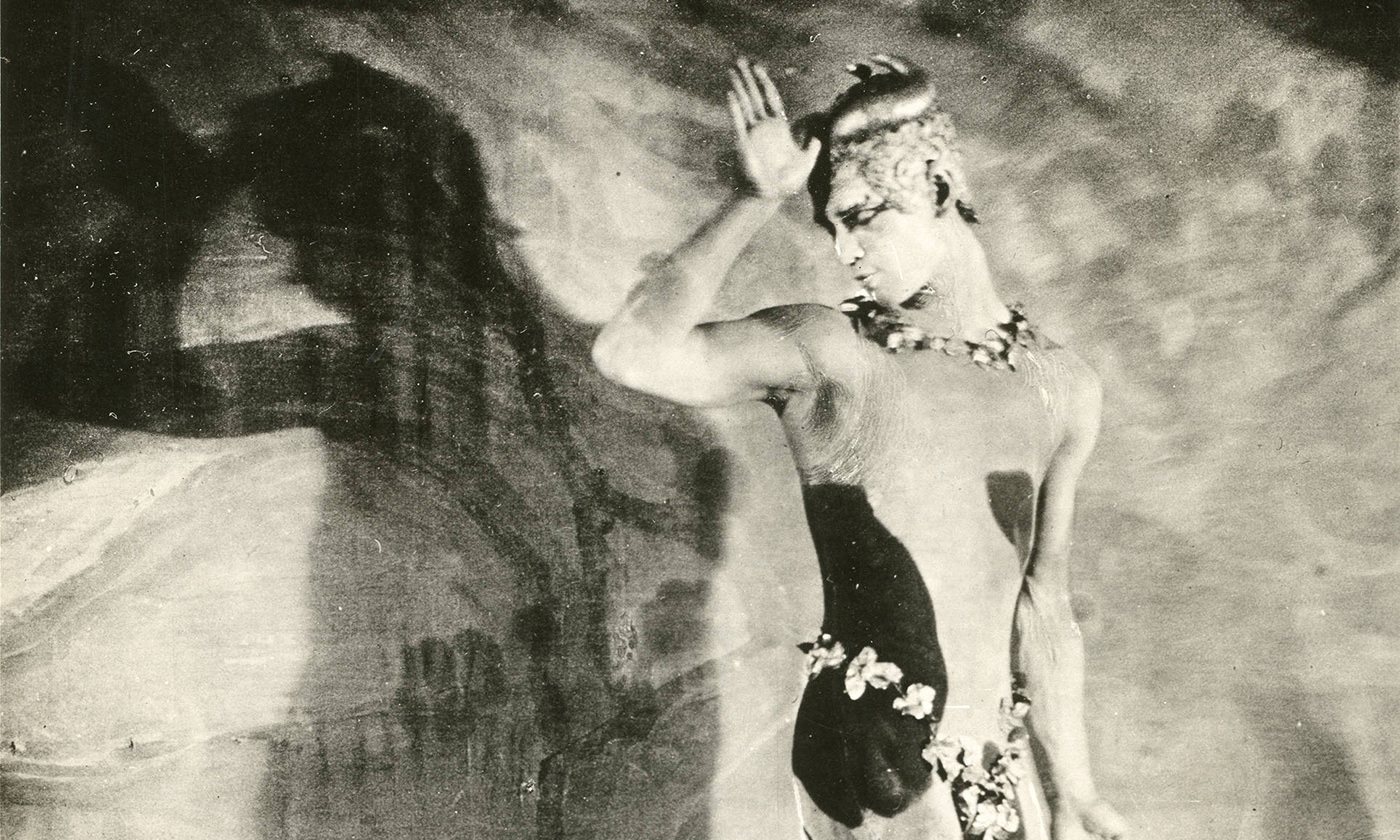 <p>Dancer Waslav Nijinsky photographed in 1917 by Karl Struss. <em>Photo courtesy Wikipedia</em></p>