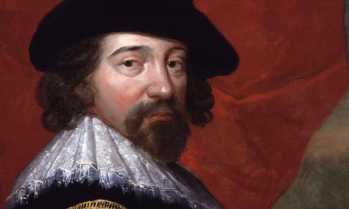 Cometh the man; Francis Bacon's insight was that the process of discovery was inherently algorithmic. <em>Photo courtesy NPG/Wikipedia</em>