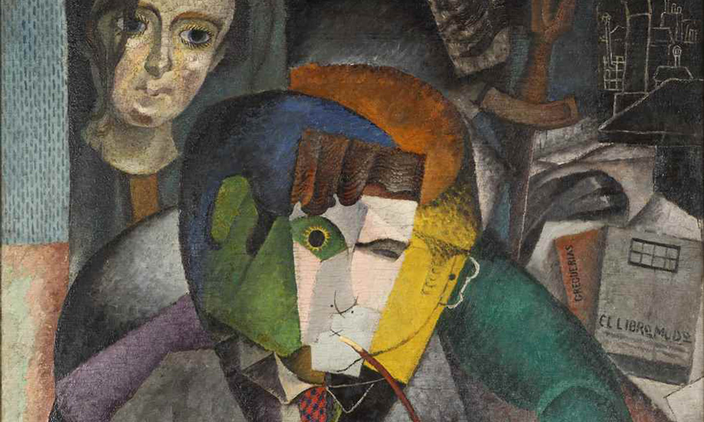 <p>Detail from <em>Portrait of Ramón Gómez de la Serna</em> (1915) by Diego Rivera. <em>Courtesy Diego Rivera Foundation/Wikipedia</em></p>