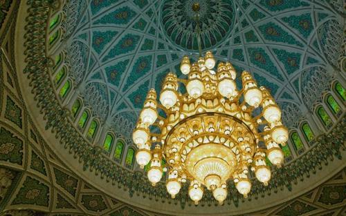 Card sultan qaboos mosque