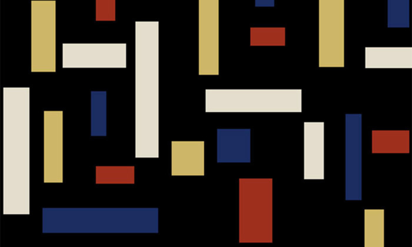 Detail from <em>Composition VII (The Three Graces) </em> (1917), by Theo van Doesburg. <em>Photo courtesy Wikipedia</em>
