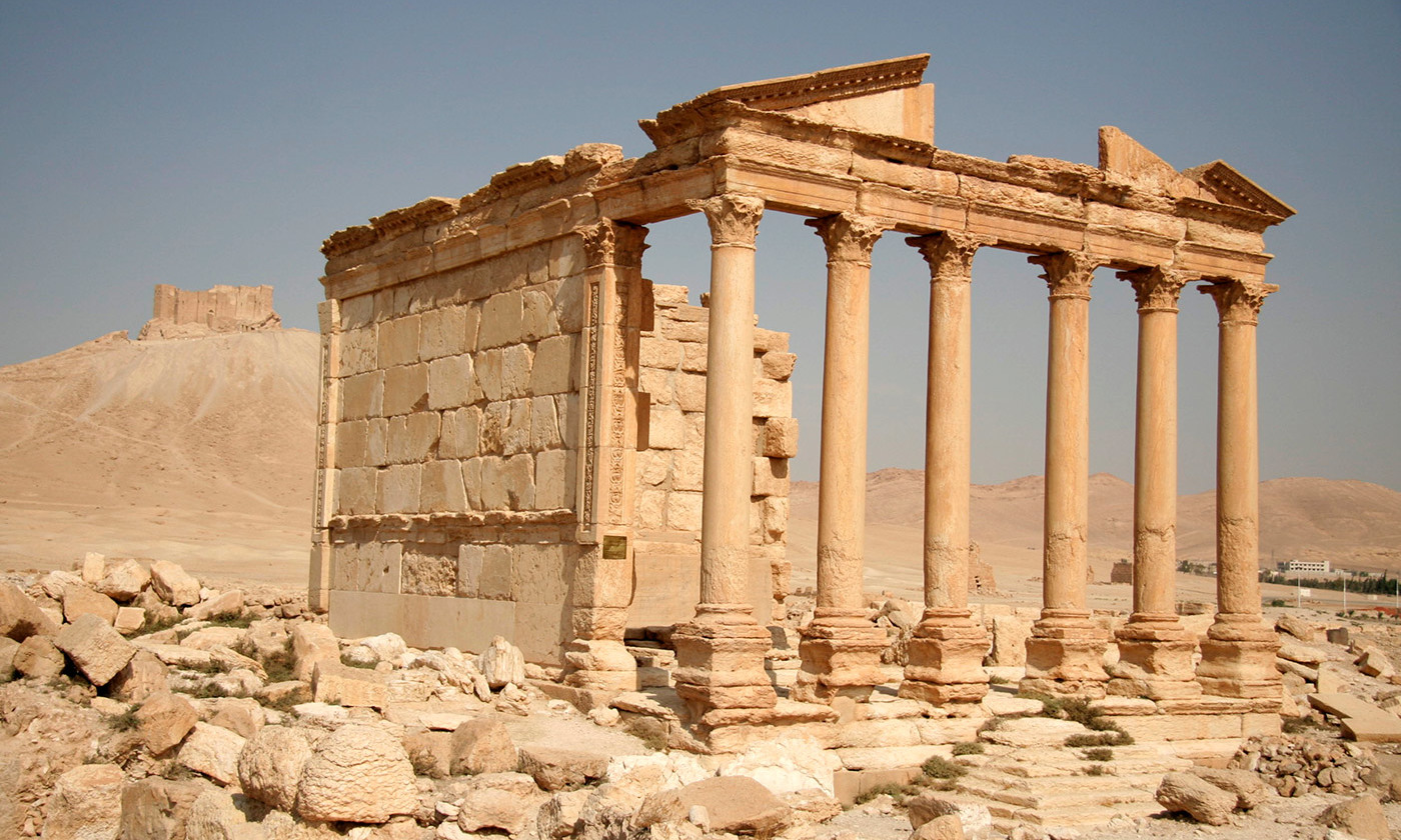 Funeral temple No 86 in Palmyra. <em>Courtesy Wikipedia</em>