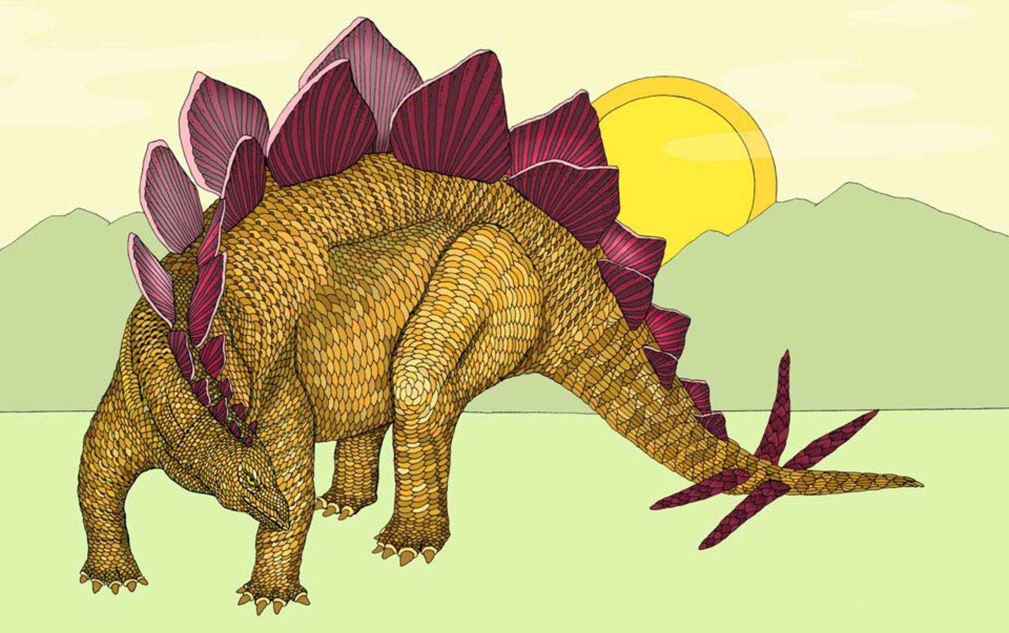 Header stegosaurus