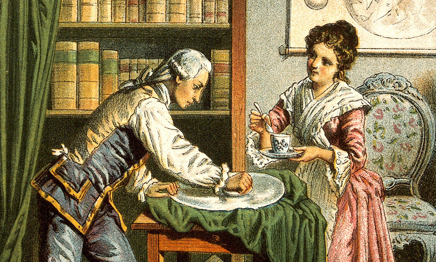 <p>Unequal partners; William and Caroline Herschel. <em>Wellcome images/Wikipedia</em></p>