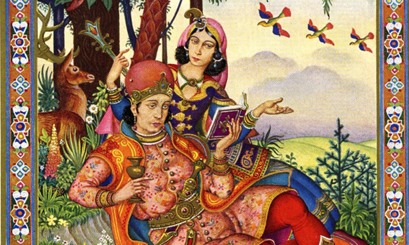 <p>From <em>The Rubáiyát of Omar Khayyám</em> (1940) illustrated by Arthur Szyk. <em>Courtesy Wikipedia</em></p>