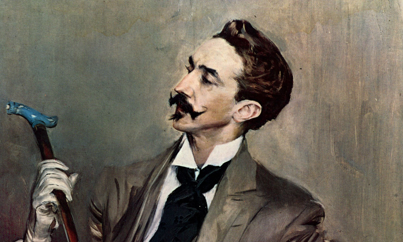 <p><em>Portrait of Robert de Montesquiou</em> (1897) by Giovanni Boldini. <em>Courtesy Wikipedia</em></p>
