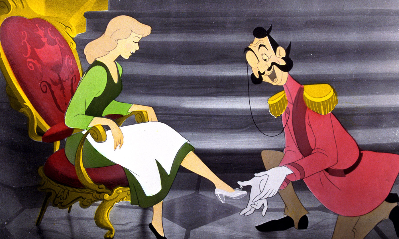 <p>Classic narratives. From <em>Cinderella</em>, 1950. <em>Photo by Rex Features</em></p>