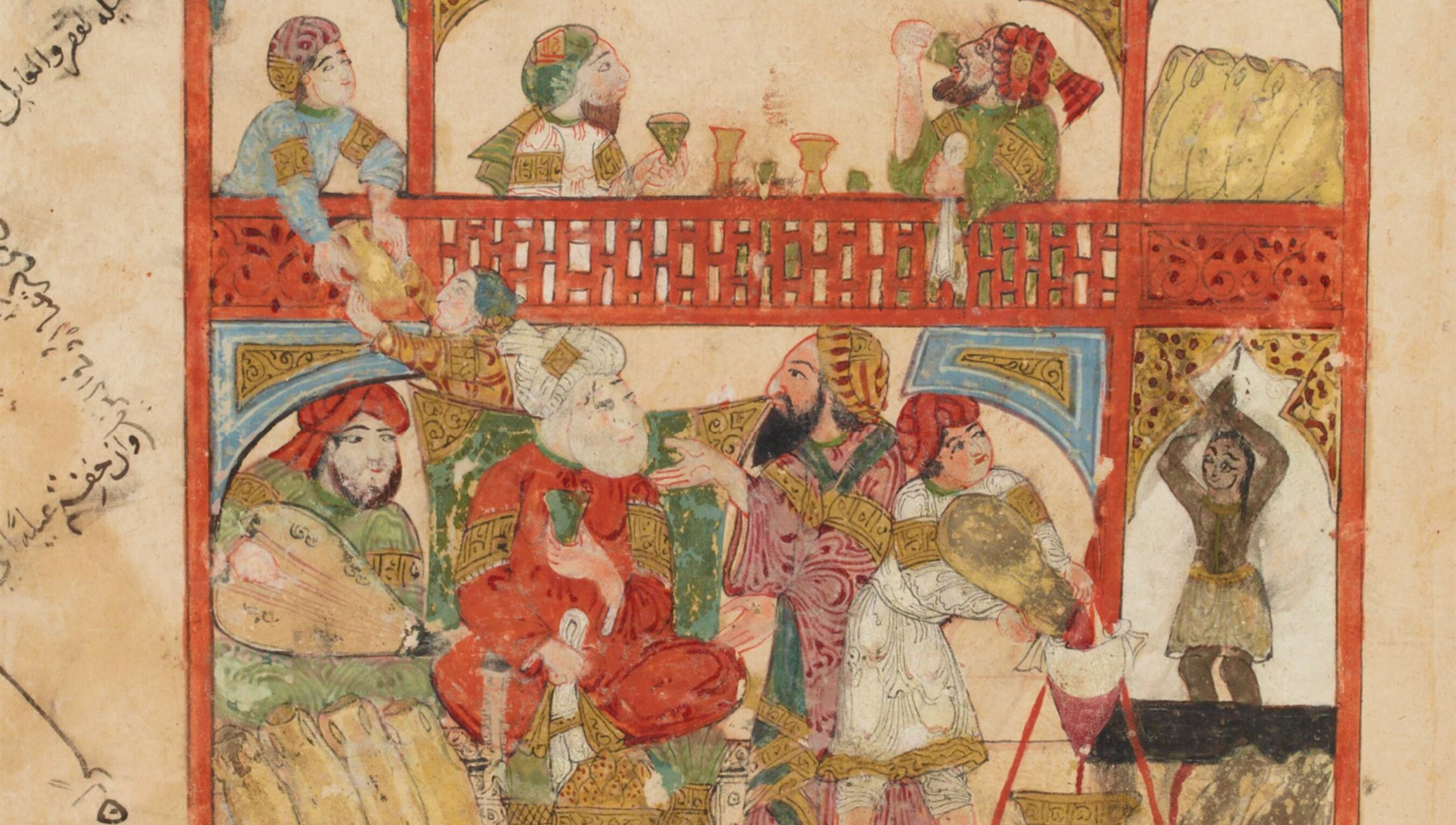 Party-crashing was a serious business in medieval Arabic tales | Psyche