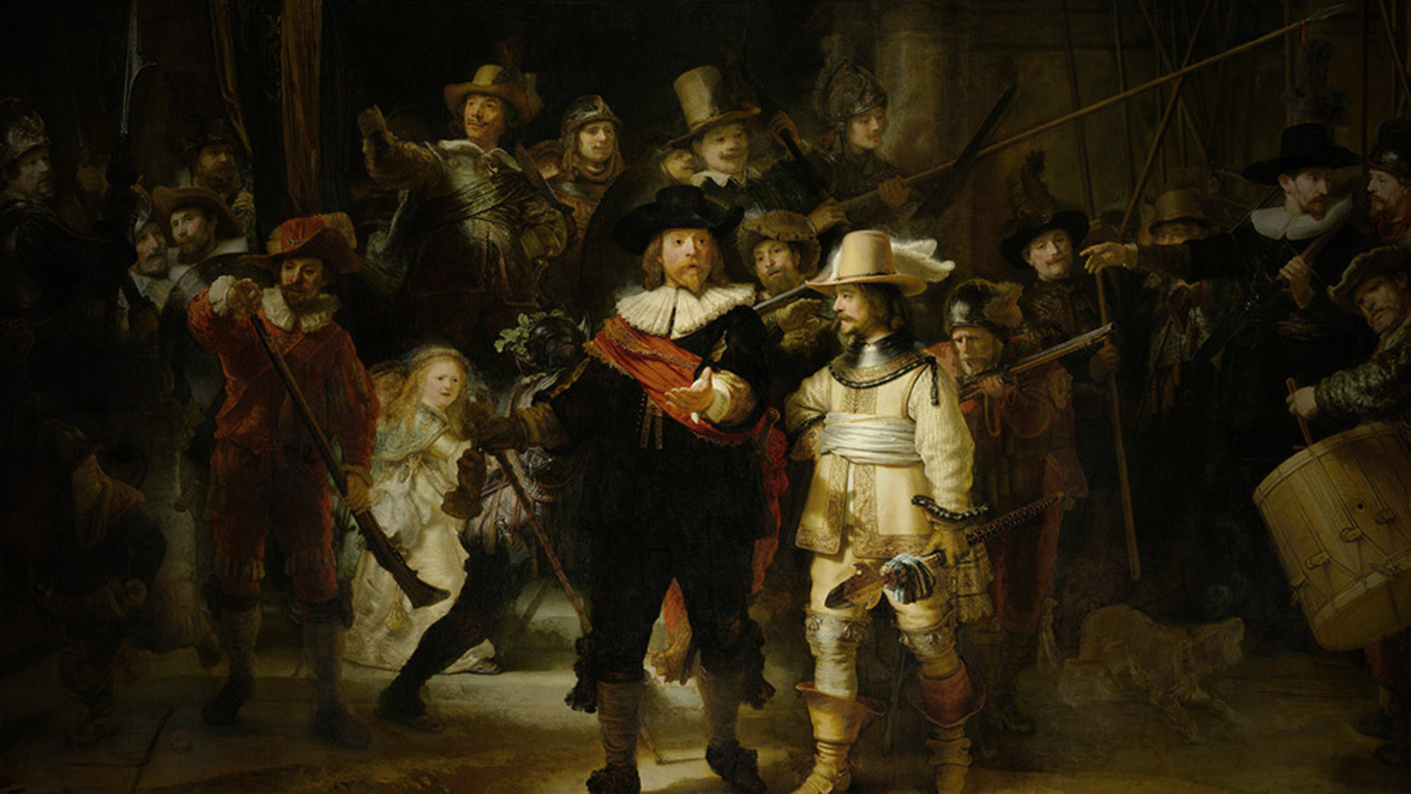 How Rembrandt used light and motion to make a mundane commission a masterpiece