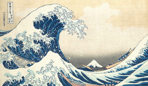 The Great Wave by Hokusai | Aeon