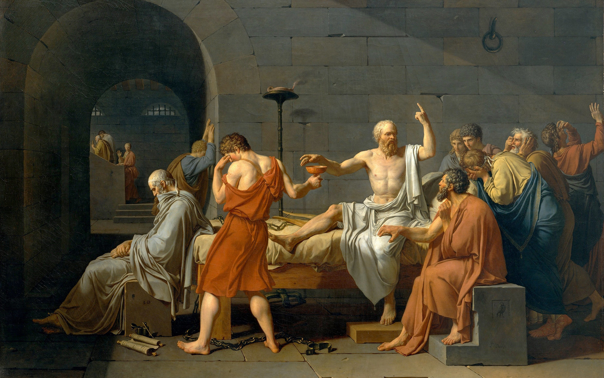 the civic drama of socrates trial essays