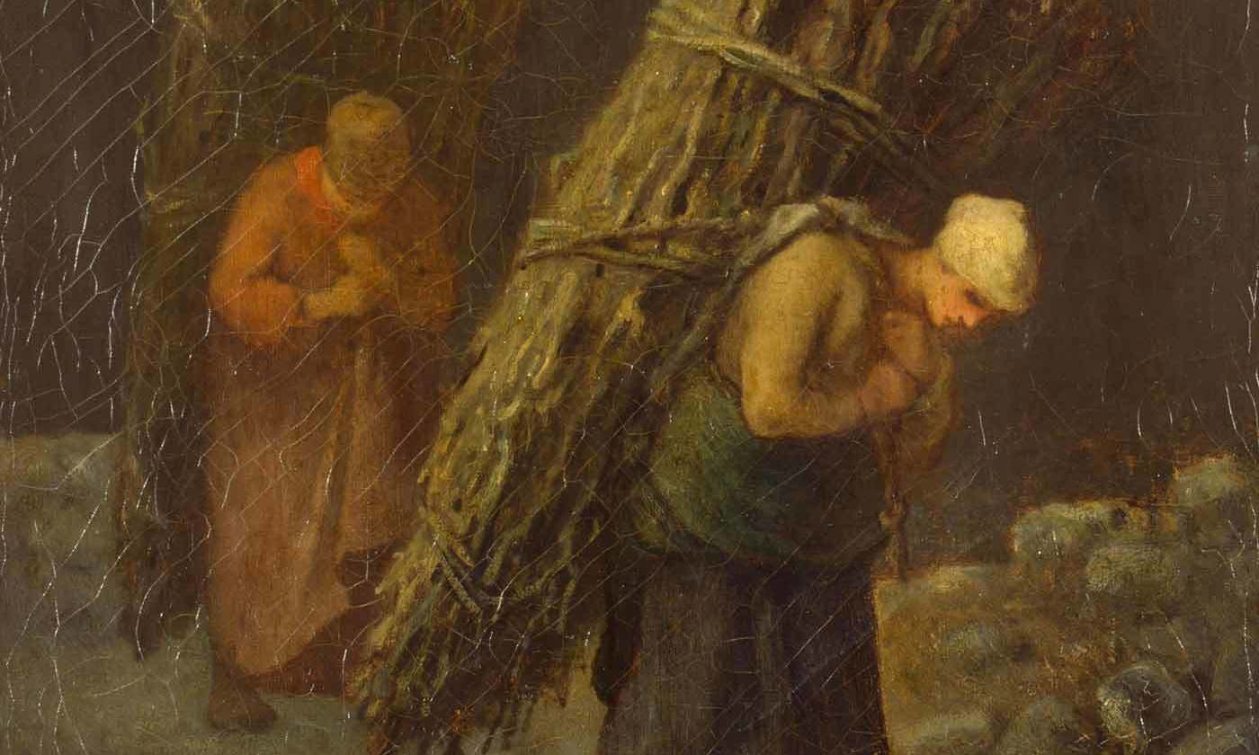 <p>Detail of <em>Peasant Women with Brushwood </em>(<em>c</em>1852), by Jean-Francois Millet. <em>Courtesy the State Hermitage Museum, St Petersburg</em></p>