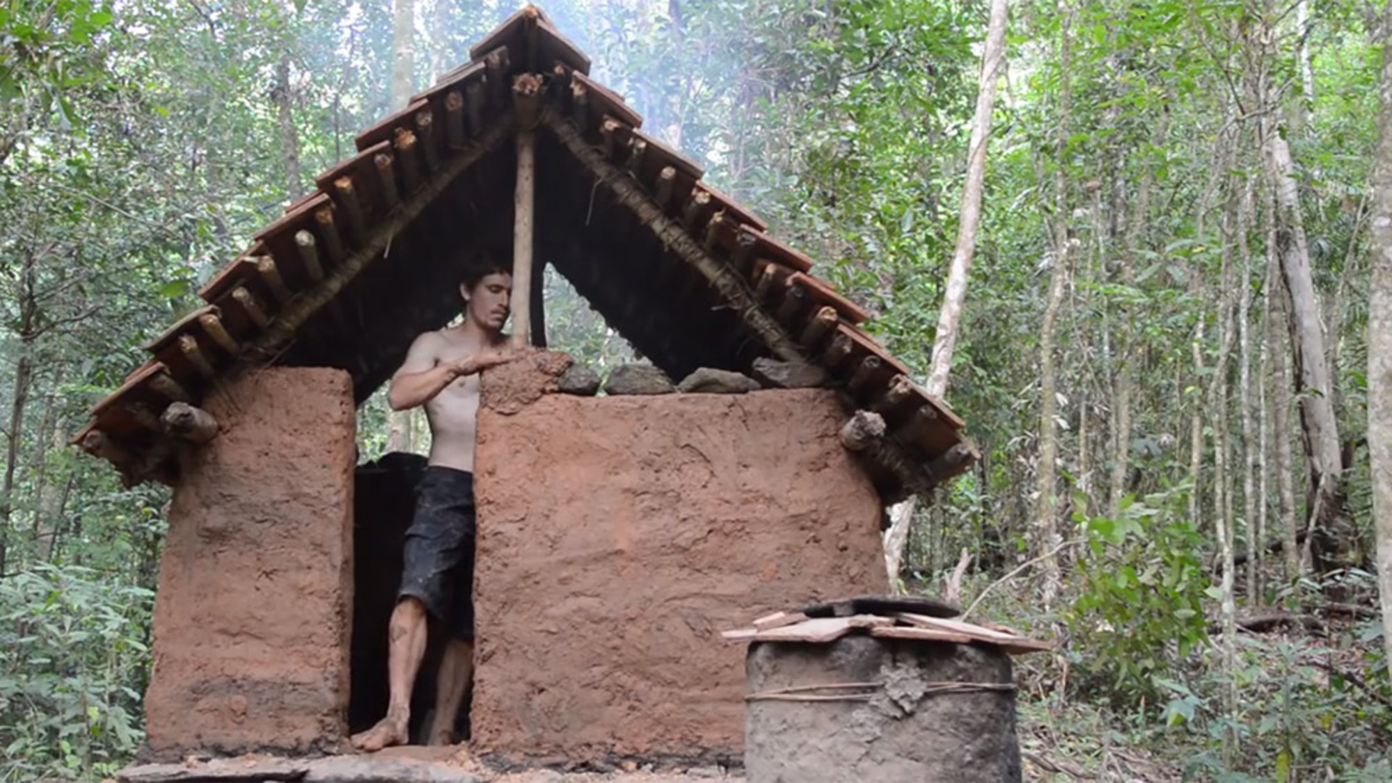 Make Shelter How To Build An Awesome Hut Only With