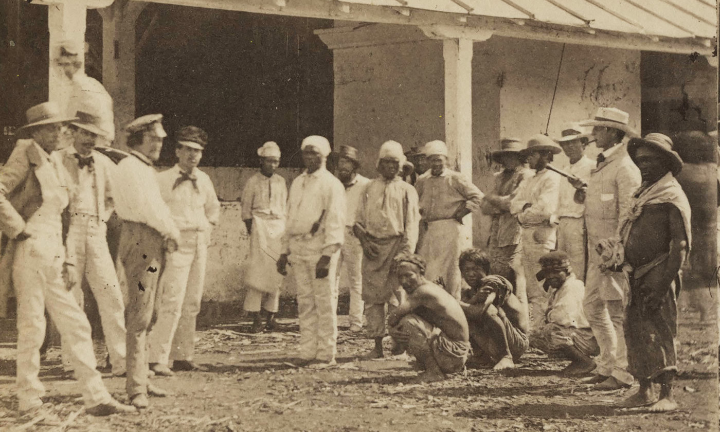 in the s the future of american slavery seemed bright  enslaved african and yucatecan n labourers on a plantation in photographed in 1863