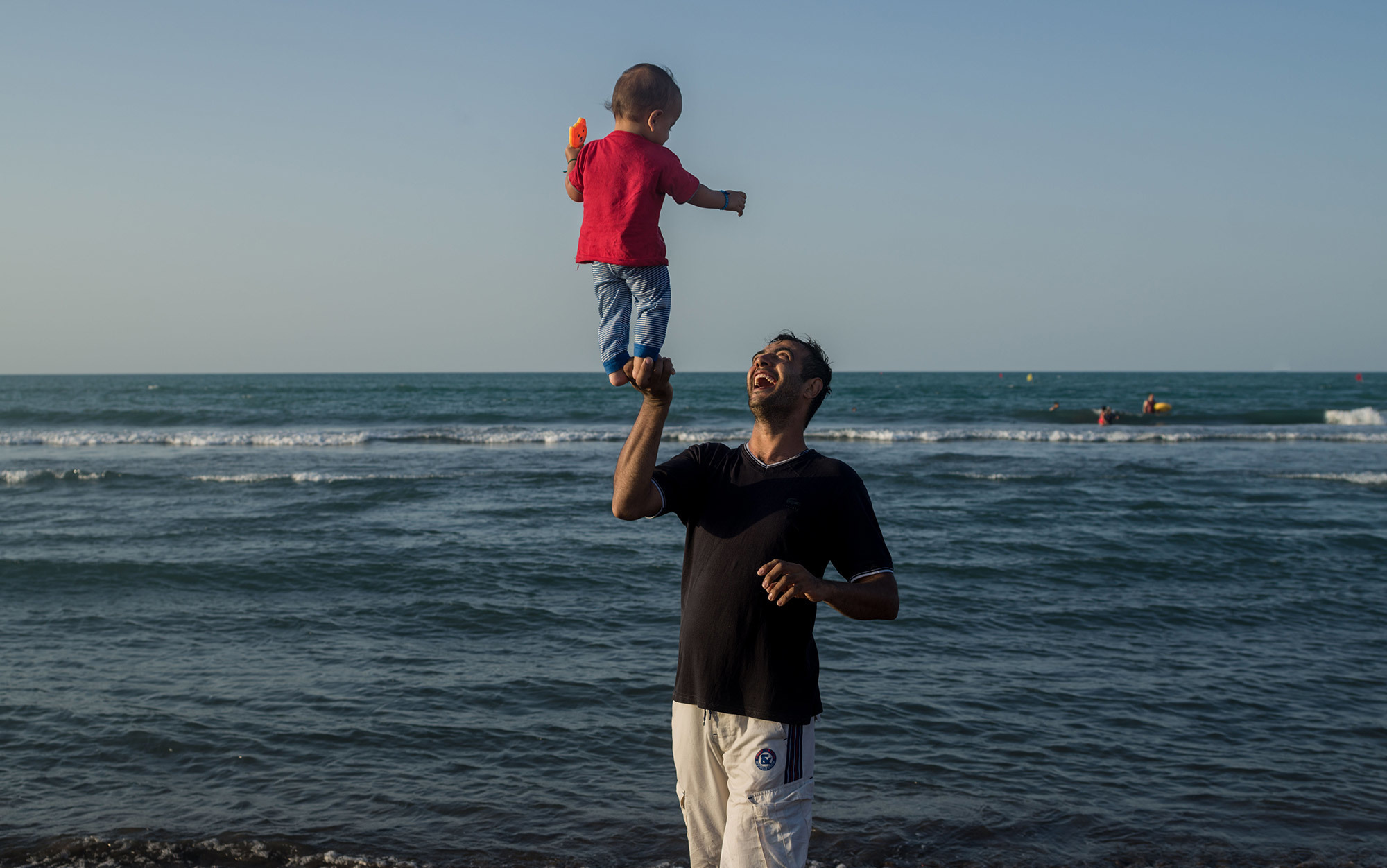 The devotion of the human dad separates us from other apes