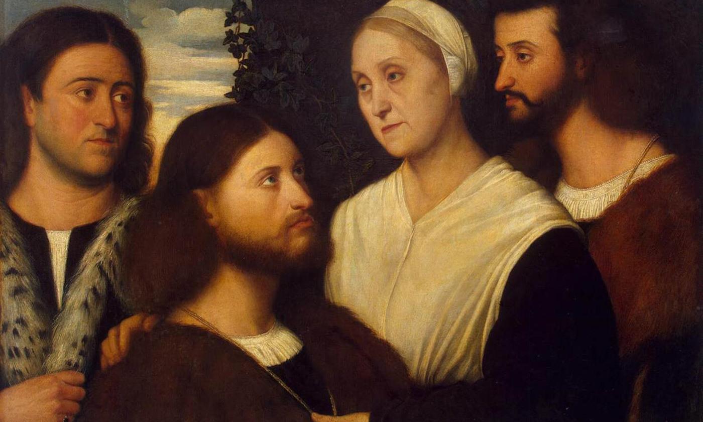 <em>Family Portrait</em> by Bernardino Licinio <em>c</em>1520. <em>Courtesy Hermitage Museum/Wikipedia</em>