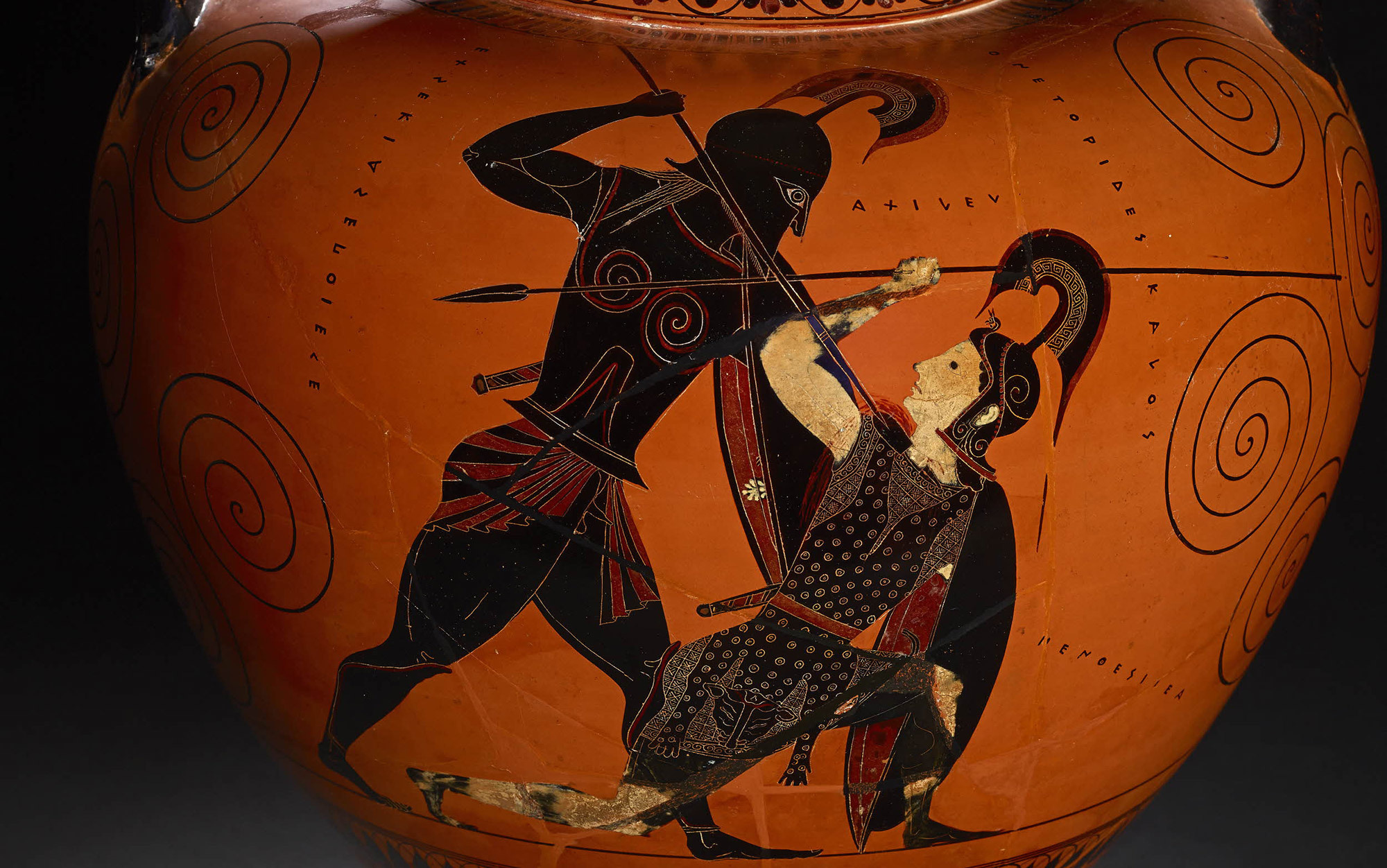 when homer envisioned achilles  did he see a black man