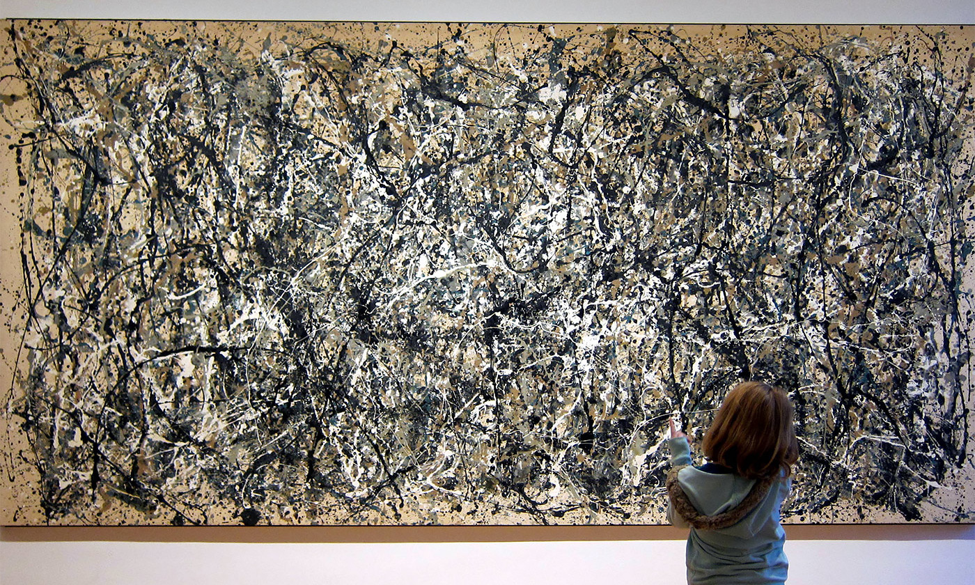 feel good fractals from ocean waves to jackson pollock s art <em>photo by ncindc flickr< em>