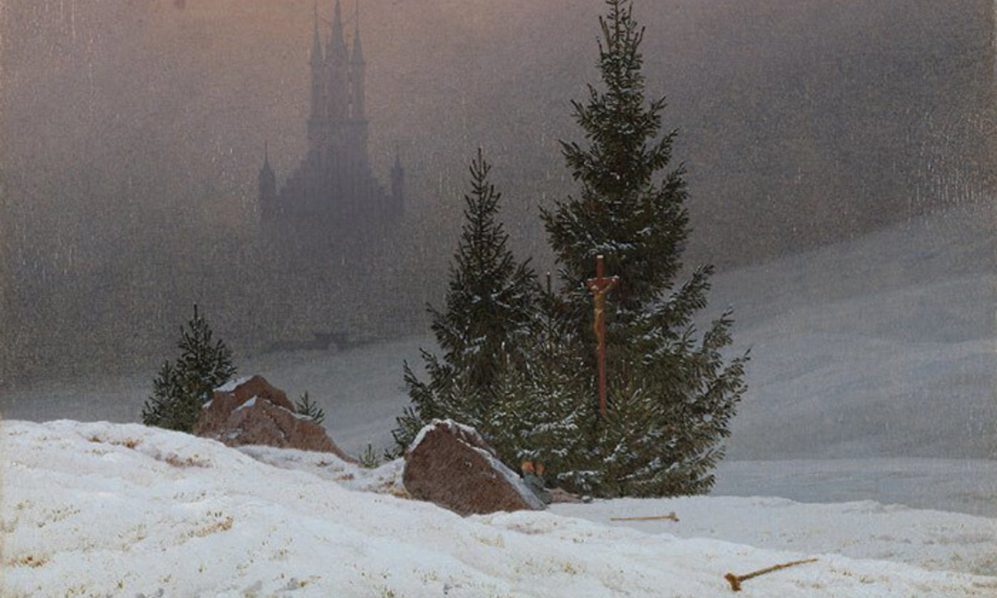 <p><em>A Winter Landscape </em>(1811) by the avowedly Protestant painter Caspar David Friedrich. <em>Courtesy the National Gallery, London</em></p>