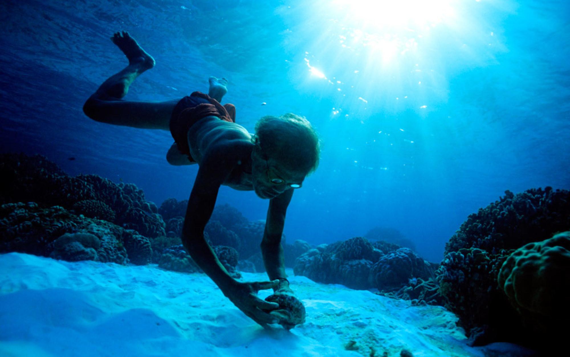 Header moken diver