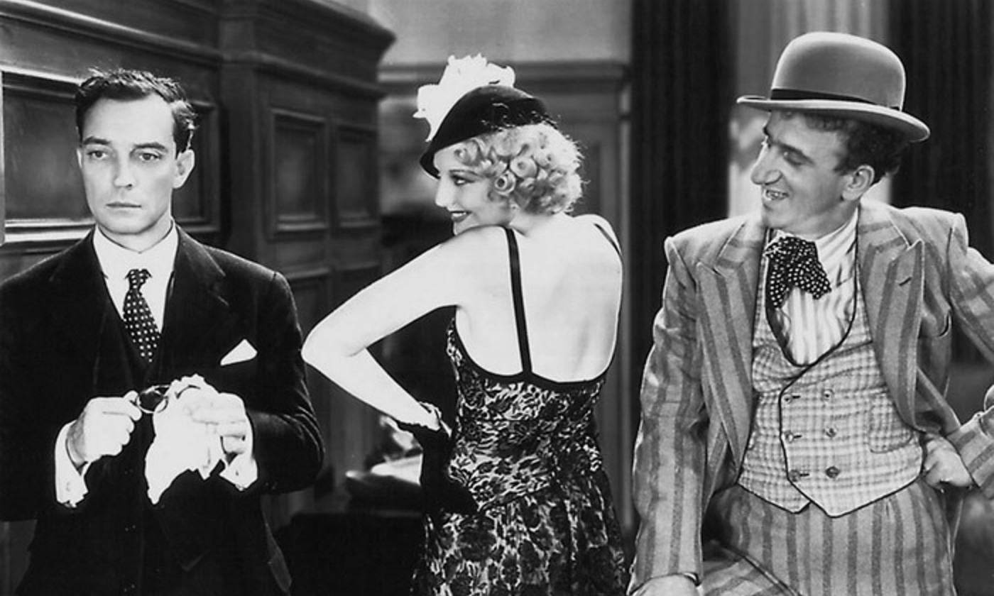 Buster Keaton in <em>Speak Easily</em> (1932). <em>Courtesy Wikipedia</em>