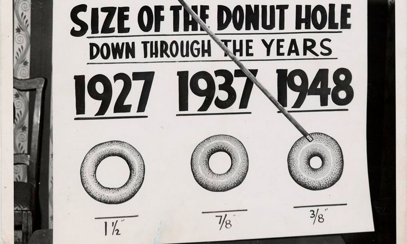 <em>Photo courtesy the Sally L Steinberg Collection of Doughnut Ephemera/Smithsonian</em>
