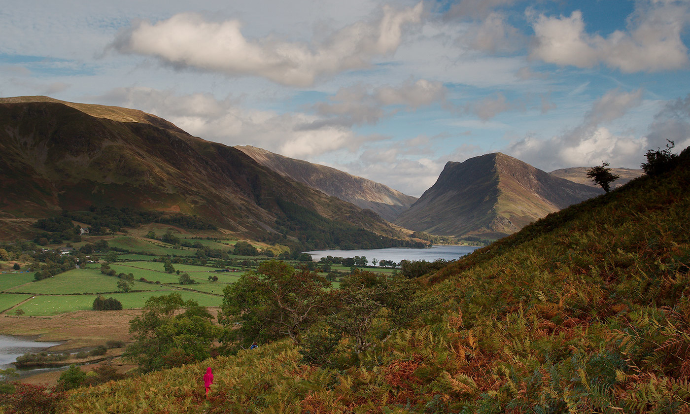 <p>View over Buttermere in Wordsworth's favoured Lake District, England. <em>Paul Albertella/Flickr</em></p>