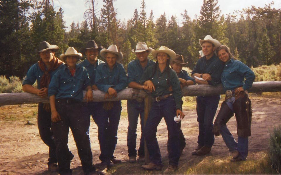 A group of wranglers. Photo by Anne Helen Petersen